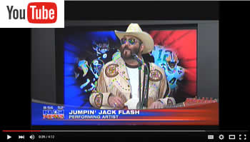 Jack Leary as Hank Jr. Live on KUSI